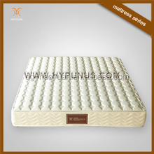 Special spring structure arrangement mattress with coconut fibre spring