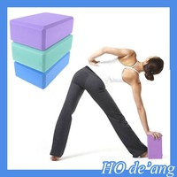 Hogift Hot Sale Yoga Block Brick Aerobic Foam Exercise Fitness Health Gym Sport Tool