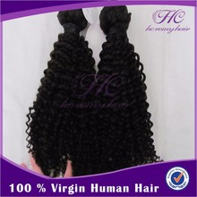 New Launched Products Malaysian Remy Kinky Curly Human Hair Weft For Black Women