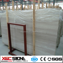 2015 Hot sale cheap white wooden marble slab