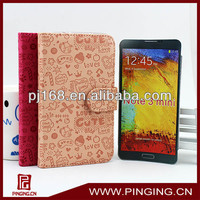 Flip cover case for samsung galaxy note 3 neo n750 n7505