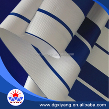 uv protection pvc stripe polyester fabric material