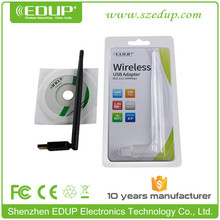 EDUP EP-MS8551 6dBi WiFi Antenna Wireless USB Wlan Adapter Desktop WiFi