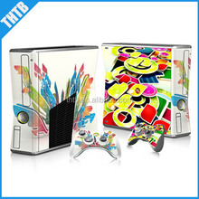 OEM welcome vinyl skin for xbox360 xbox 360 slim console controller decal sticker wholesale