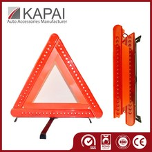 Strong Plastic Packing Unique Car Emergency Kits Warning Triangle LED