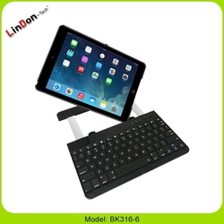 360 Rotating new bluetooth keyboard for iPad air with cover case BK316-6