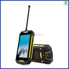 4.5 inch MTK6589 Quad Core Cell Phone/IP68 Waterproof/Shockproof/8MP Camera/5000mah/GPS/BT/WIFI/3G/GSM Walkie Talkie Phone