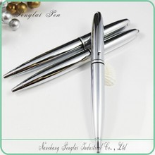 2015 Executive silver promotional laser engraved best business gift ball pen