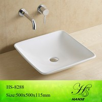 HS-5027 wash basin price in india/ wash basin made in india/ square wash basin
