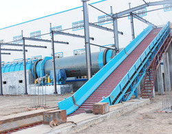 Waste paper chain conveyor machine from China
