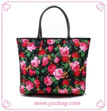 4 Color CMYK Print Fashion Handbag for Women