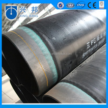 3 PE/2pe coating anti-corrosive steel tube with fusion epoxy bonded for recycled water