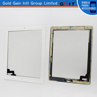 Wholesale In Stock Factory Price Digitizer For iPad2 Touch Screen Black Color