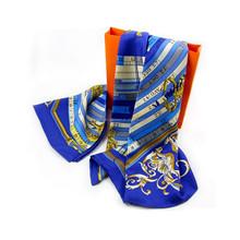 180*60cm hand painted silk scarf