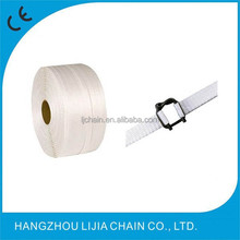 Polyester woven cord strap with buckle for pallet packing