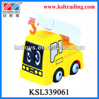 newest lovely happy engineering mini car toy