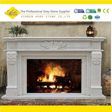Hot sale Nature Stone Marble gas fireplace