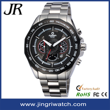 alibaba 2015 new design stainless steel men automatic watch Luxury Mechanical Watch for men