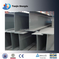 Structural steel beam dimensions SS400 material