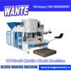 China Machinery Hydraulic WT10-15 small movable block machine