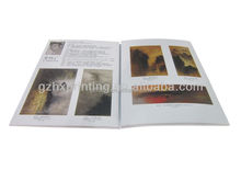 Free Sample Folded Promotional Brochure Flyer in guangzhou