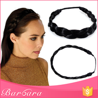 Barbara free sample factory wholesale high quality braided hair bands