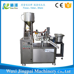 China most popular automatic 502 liquid glue tube filler and sealer machine