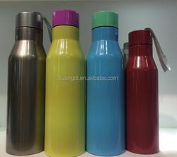 vacuum falsk doubel wall SS sports bottels manufactory price high quality water bottel