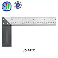 Famous for high quality raw materials metal tailors L shaped ruler tools