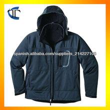 Exterior invierno chaqueta 2014 varonil Softshell
