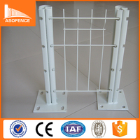 factory wholesale hot dipped galvanized or PVC coated metal fence antique