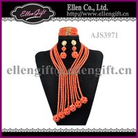 Handmade African Wedding Jewelry Set AJS3971