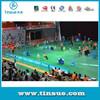 Best selling PVC badminton flooring for indoor usage