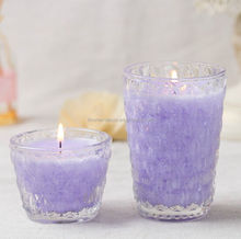Shenzhen Lihome factory produce 100% natural wax custom scented candles