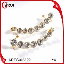 lightning earing lot gemstone stud earrings gold ear cuff pearl