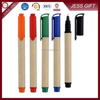 Eco friendly paper pen eco envirement paper pen