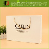 Fancy Cheap Popular Hand Shopping Paper Bag, Factory Price Paper Bag