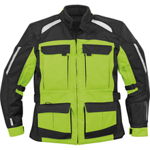 Cordura 600D first racing heated waterproof 3 season armored textile motorcycle touring jacket for men