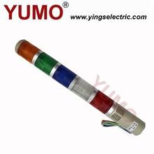 Manufacturer SPT5 5 color 24V safety LED signal tower light industrial lighting Warning Light led tower light