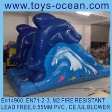 mini dolphin inflatable water slides