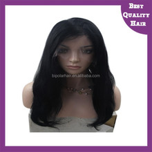 Fine and Delicate Craftmanship Full Hand-tied Bleached Knots and Free Style 100% Human Virgin Remy Hair Natural Hair Wig