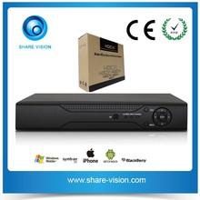 720P Analog High Definition HDCVI DVR Recorder Video Recorder 3TB HDD