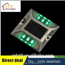 Promotional brand new IP68 high quality aluminum 6 LED solar power emergency light