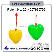 2015 New Sole Bag Light / Promotion Gift Flashing Led Ring Bag Light