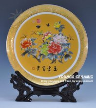 Ceramic Porcelain Wedding Table AND Wall Decoration Plates