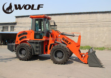 New condition front end loader snow blower,agricultural equipment with log grasper/grappler with CE approved