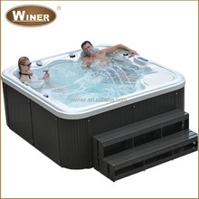 5 person indoor outdoor freestanding mini whirlpool sex massage hydro spa hot tub