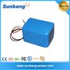 electric golf trolley lithium battery 24V 10ah lifepo4 battery pack for ev/li-ion battery pack 3.7v