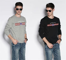 Round neck tight fit long sleeve t shirt