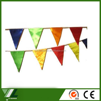 festival bunting fabric custom outdoor flag custom print pvc advertising banner